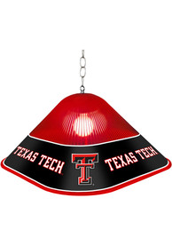 Texas Tech Red Raiders Game Table Square Red Billiard Lamp