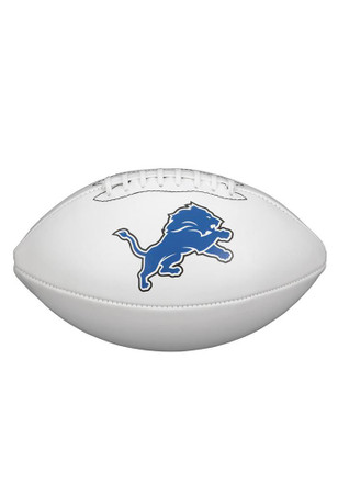 Detroit Lions Official Team Logo Autographed Football