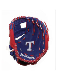 Texas Rangers 10 Inch Youth Balls and Helmets Glove