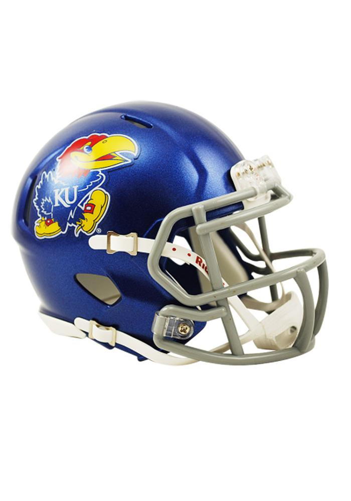 Kansas Jayhawks Royal Blue Mini Helmet