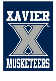 Xavier Musketeers 30x40 Silk Screen Banner