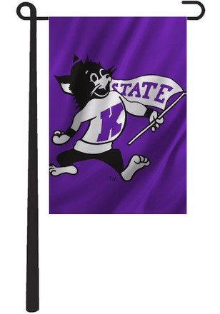 K-State Wildcats 13x18 Willie the Wildcat Garden Flag