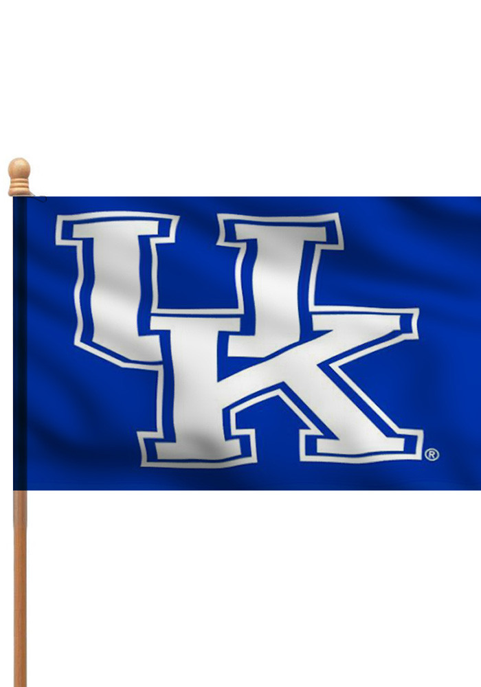 Kentucky Wildcats 3x5 Blue Silk Screen Sleeve - Image 1