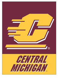 Central Michigan Chippewas 30x40 Banner