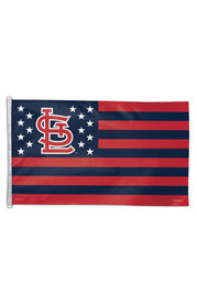 St Louis Cardinals 3x5 Stars and Stripes Red Silk Screen Grommet Flag
