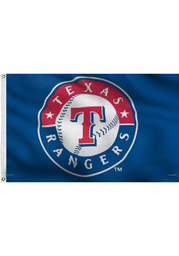 Texas Rangers 3x5 Deluxe Grommet Silk Screen Flag