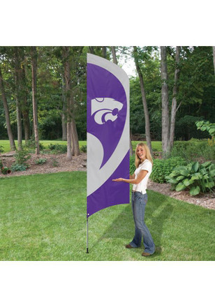 K-State Wildcats 8.5x2x5 Tall Team Flag