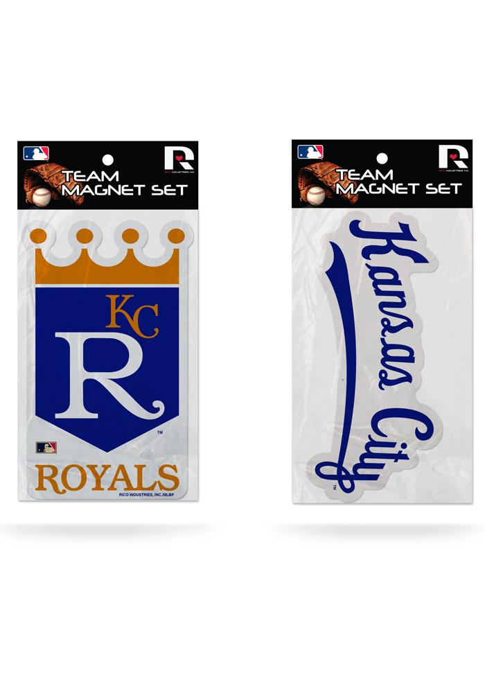 Kansas City Royals Cooperstown 2 Pack Magnet - Image 1