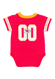 KC Chiefs Baby red Infant Dazzel Creeper