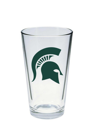 Michigan State Spartans Logo Pint Glass