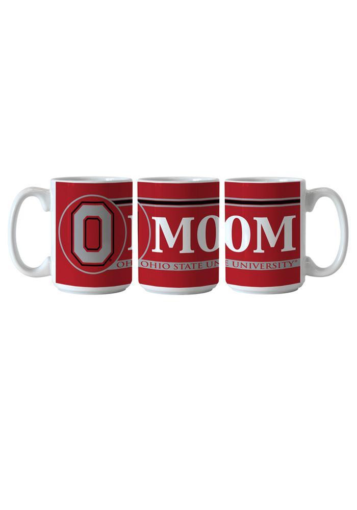 Ohio State Buckeyes 15oz Mom Ceramic Mug - Image 1