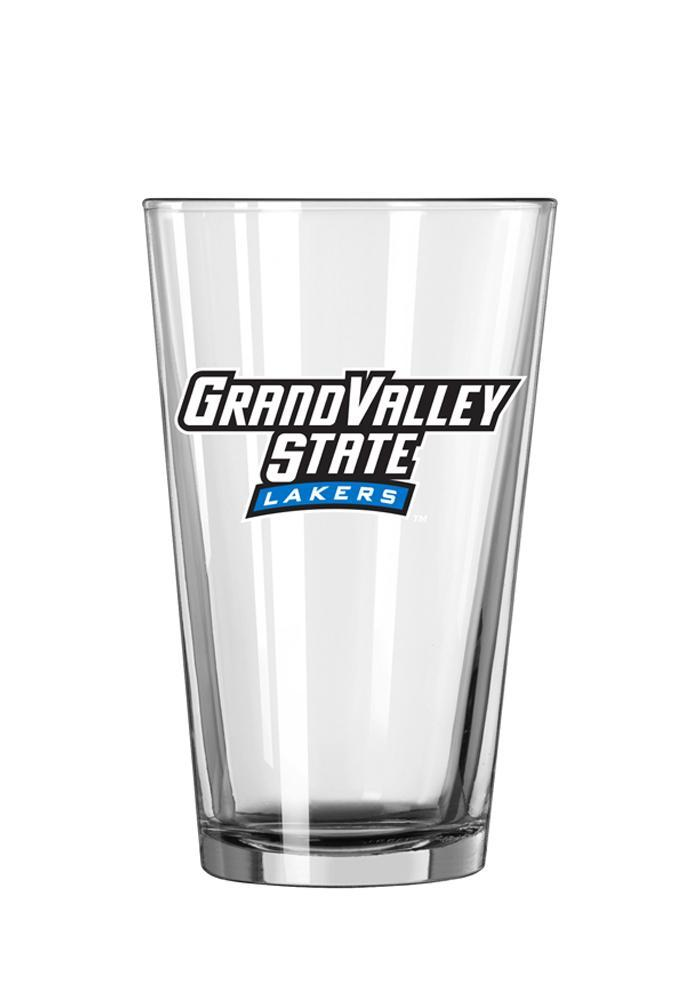 Grand Valley State Lakers Wordmark Pint Glass - Image 2