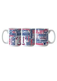 Texas Rangers 15oz Spirit Mug