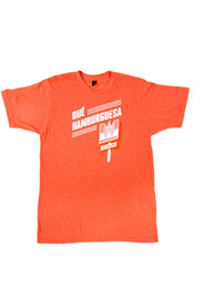 Whataburger Orange Que Hamburguesa Short Sleeve T-Shirt