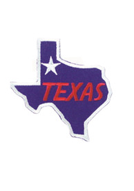 Texas State Map Patch