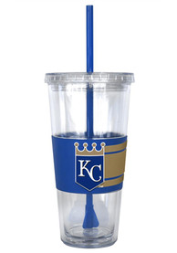 Kansas City Royals Hype 3D Wrap Straw Tumbler