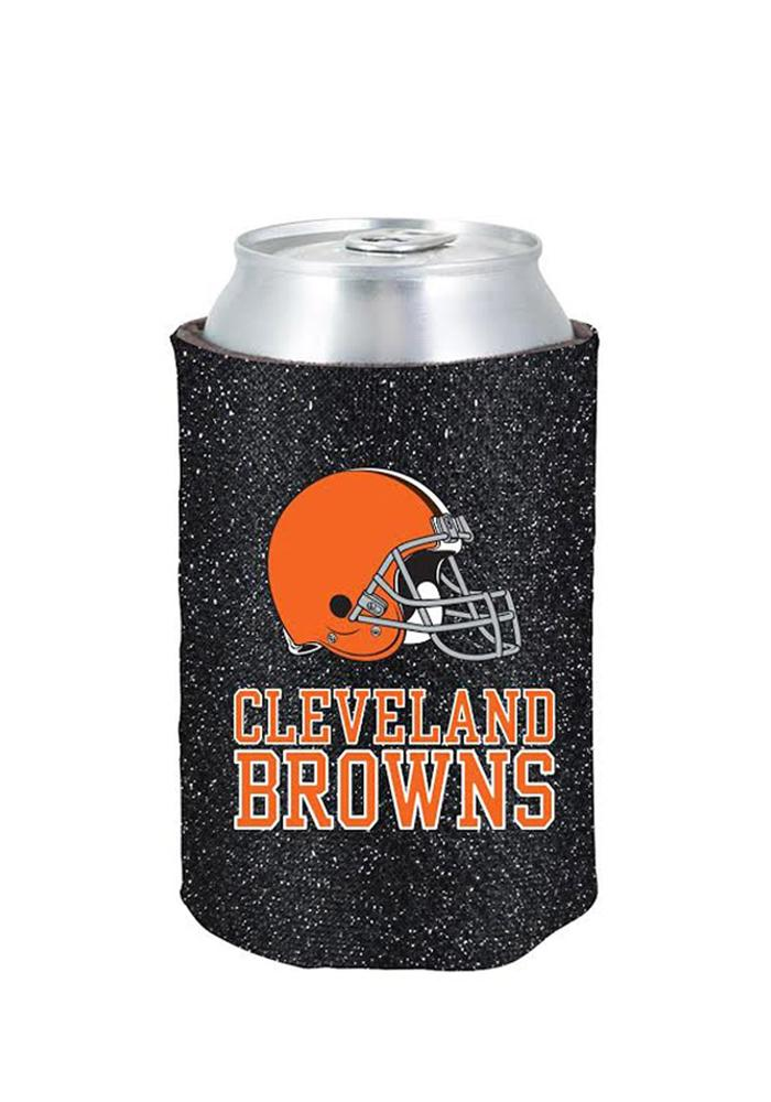 Cleveland Browns Glitter Can Coolie - Image 1