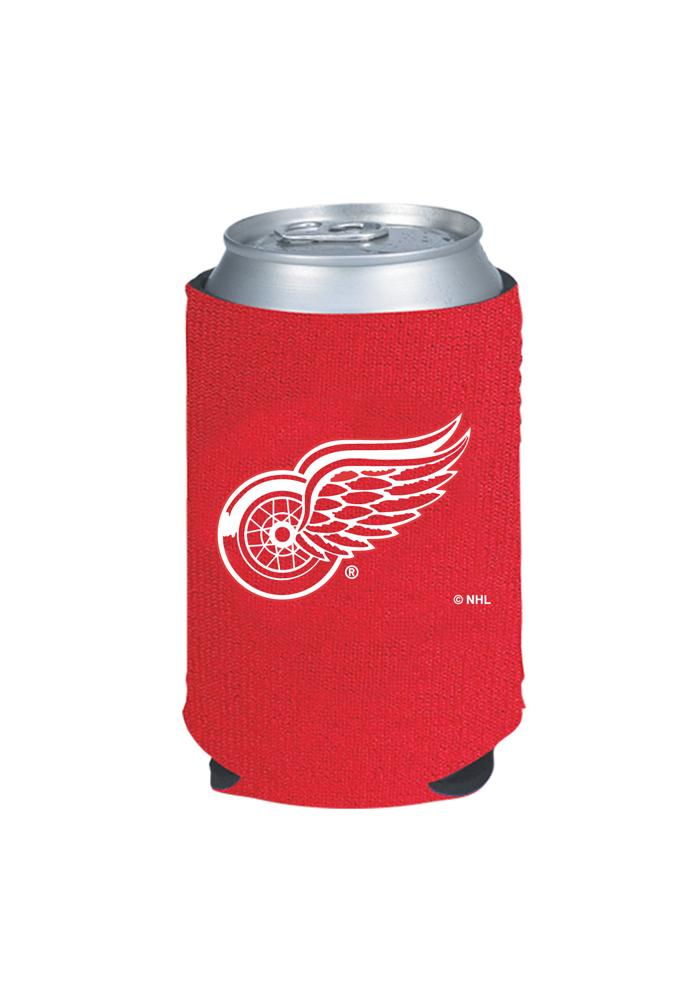 Detroit Red Wings Red Can Coolie - Image 1
