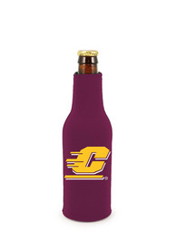 Central Michigan Chippewas Bottle Coolie