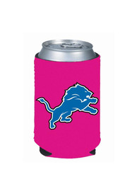 Detroit Lions Pink Can Coolie