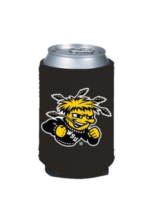 Wichita State Shockers Black Can Koozie