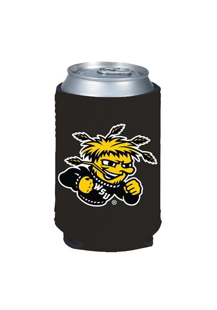 Wichita State Shockers Black Can Koozie - Image 1