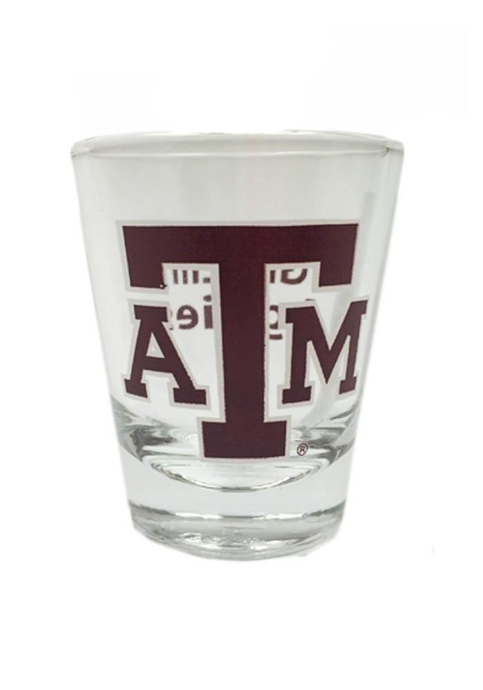 Texas A&M Aggies 1.5oz 2-Sided Shot Glass - Image 1