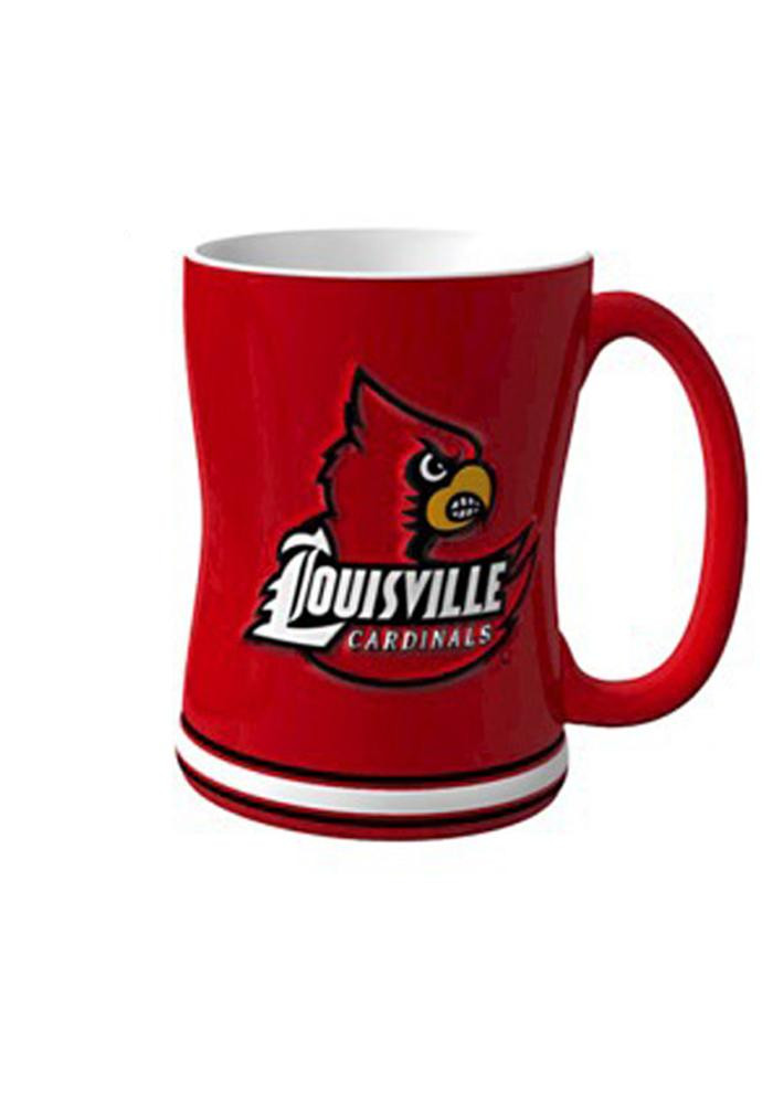 Louisville Cardinals 14oz Sculpted Mug - Image 1