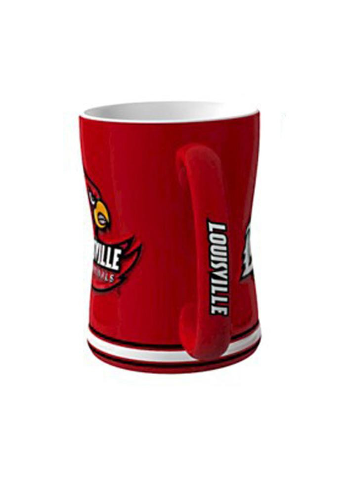 Louisville Cardinals 14oz Sculpted Mug - Image 2