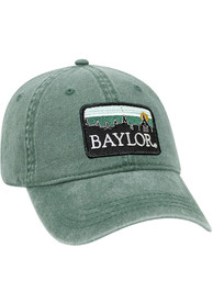 Baylor Bears Retro Sky Vintage Adjustable Hat - Green