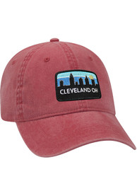 Cleveland Retro Sky Vintage Adjustable Hat - Maroon