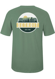 Detroit Artichoke Scenic Circle Short Sleeve T-Shirt