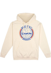 Boise State Broncos Mens White Pullover Long Sleeve Hoodie