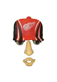 Detroit Red Wings Team Logo Forest Face