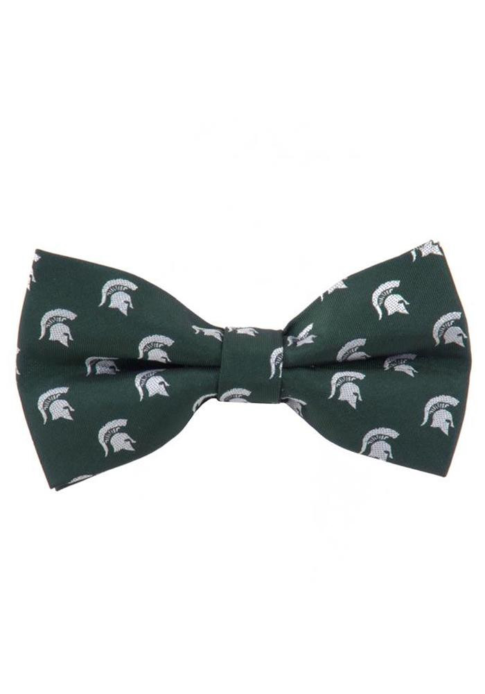 Michigan State Spartans Repeat Logo Mens Tie - Image 1