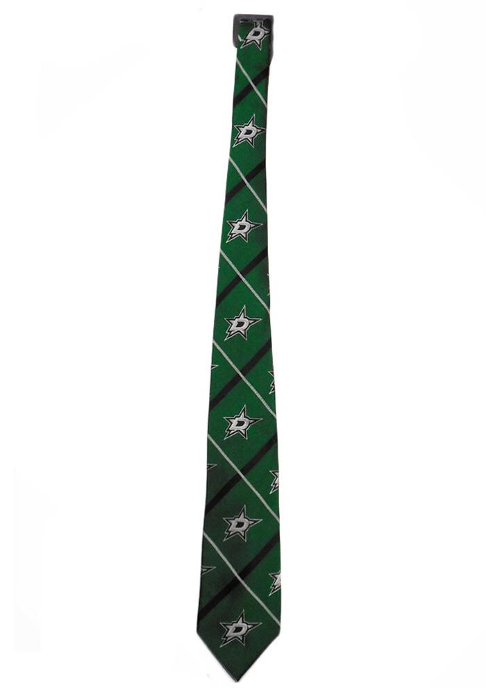 Dallas Stars Silver Line Tie - Green