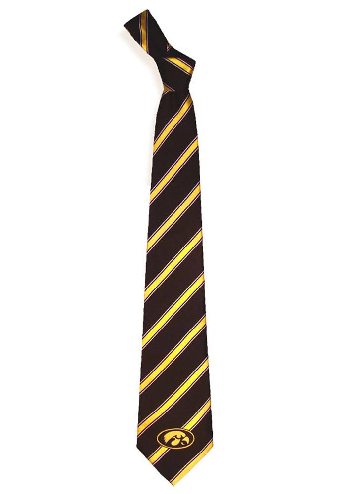 Iowa Hawkeyes Woven Poly 1 Mens Tie - Image 1