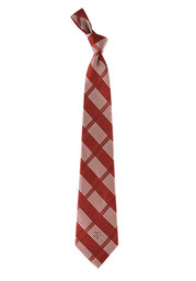 Texas A&M Woven Plaid Tie