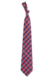 St Louis Cardinals Check Tie - Red