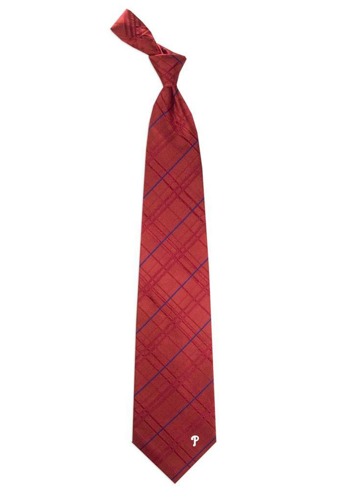 Philadelphia Phillies Oxford Woven Mens Tie - Image 1