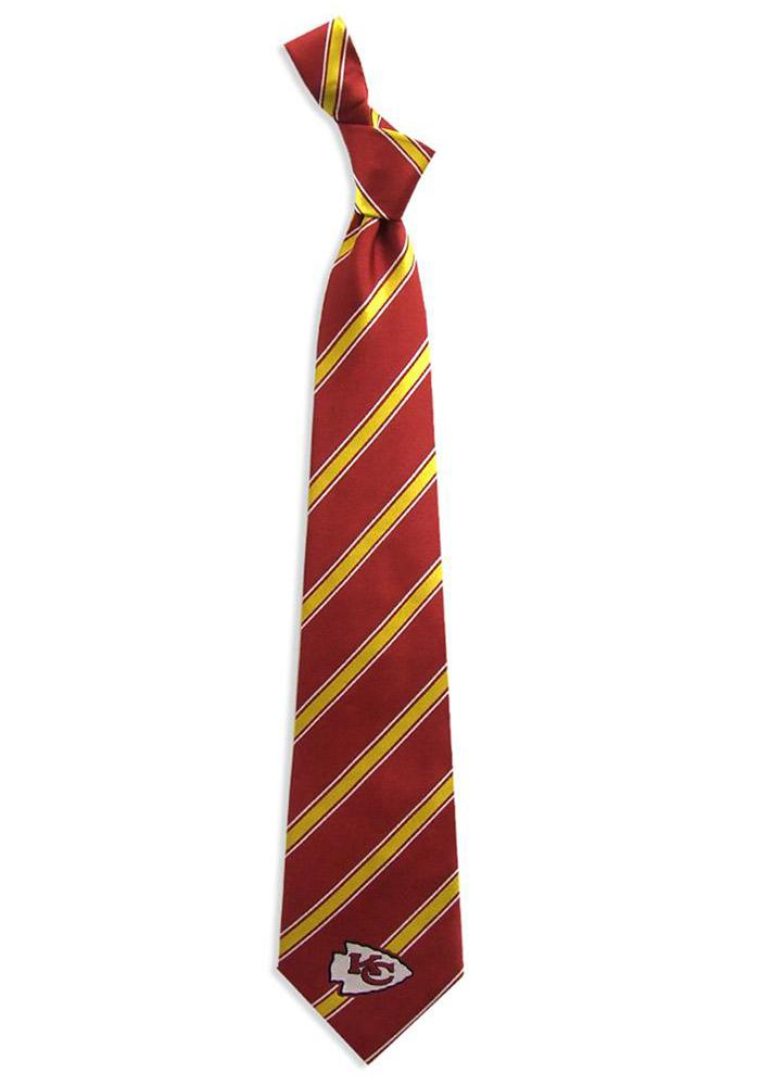 Kansas City Chiefs Woven Poly Mens Tie - Image 1
