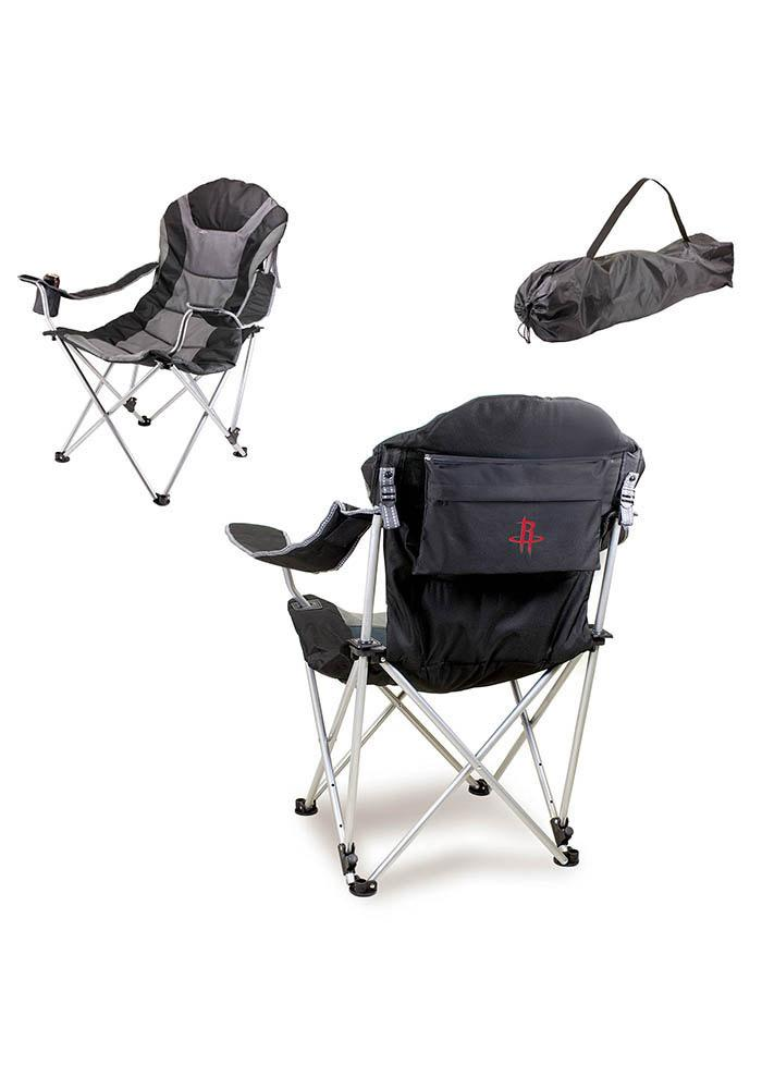 Houston Rockets Reclining Camp Canvas Chair - Image 1