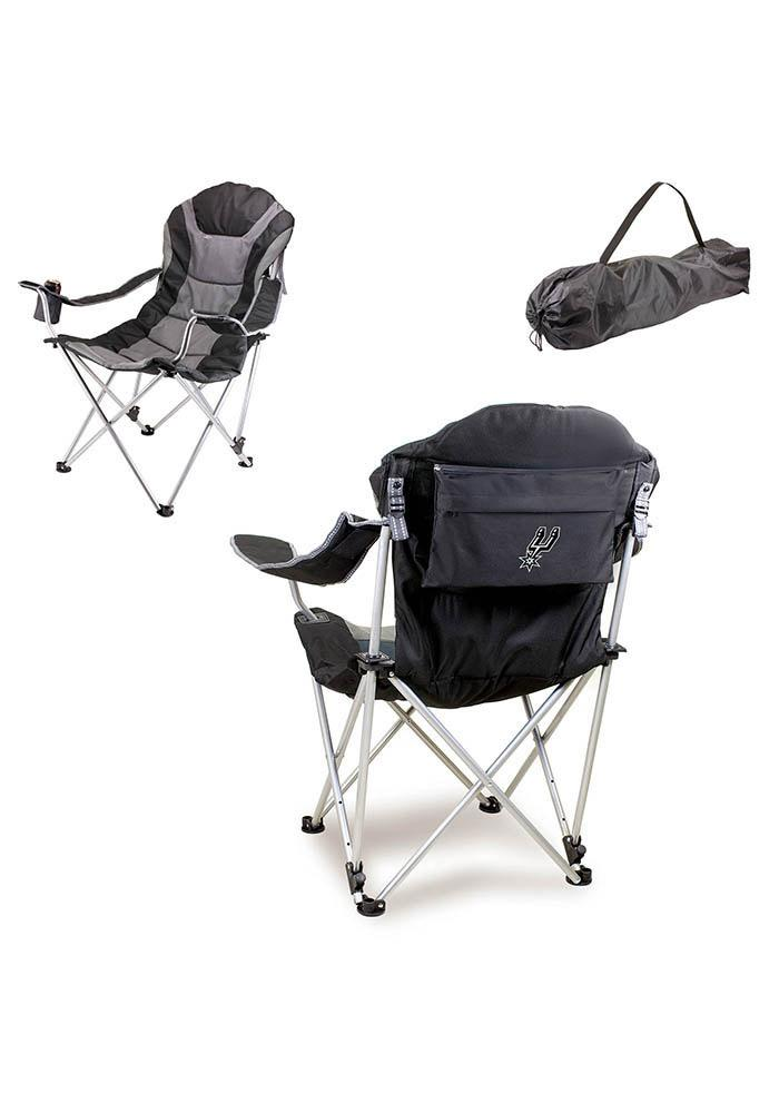 San Antonio Spurs Reclining Camp Canvas Chair - Image 1