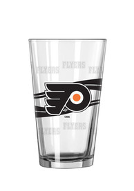 Philadelphia Flyers Satin Etched Pint Glass