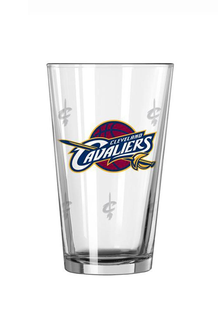 Cleveland Cavaliers Satin Etch Pint Glass - Image 1