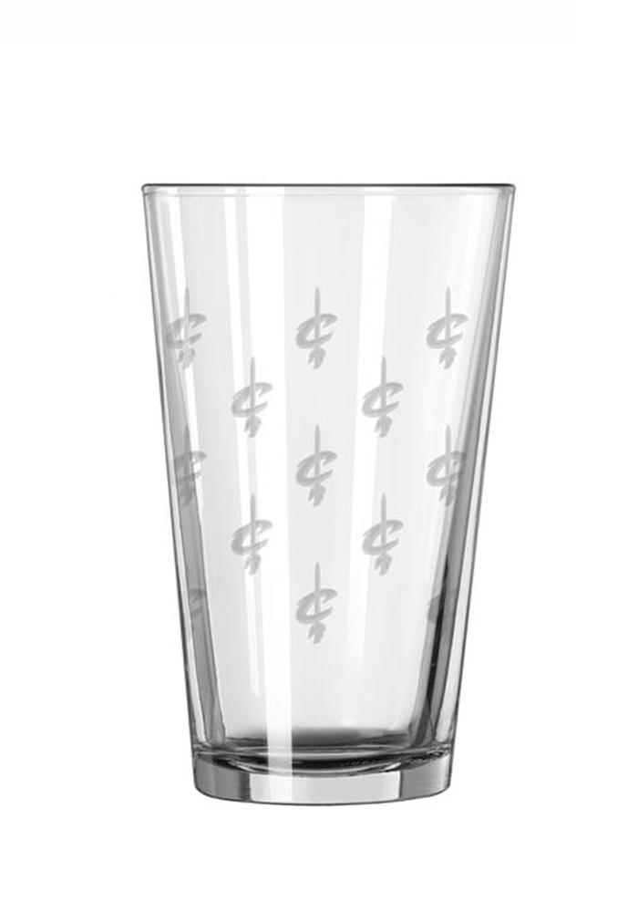 Cleveland Cavaliers Satin Etch Pint Glass - Image 3
