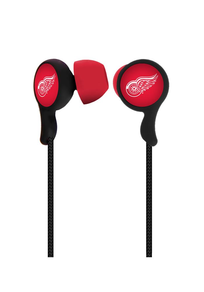 Detroit Red Wings Armor Ear Buds - Image 1
