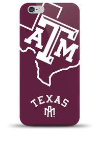 Texas A&M Aggies Oversize Logo Phone Cover