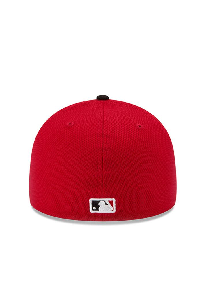 New Era Philadelphia Phillies Mens Red Home Run Derby 59FIFTY Fitted Hat - Image 4