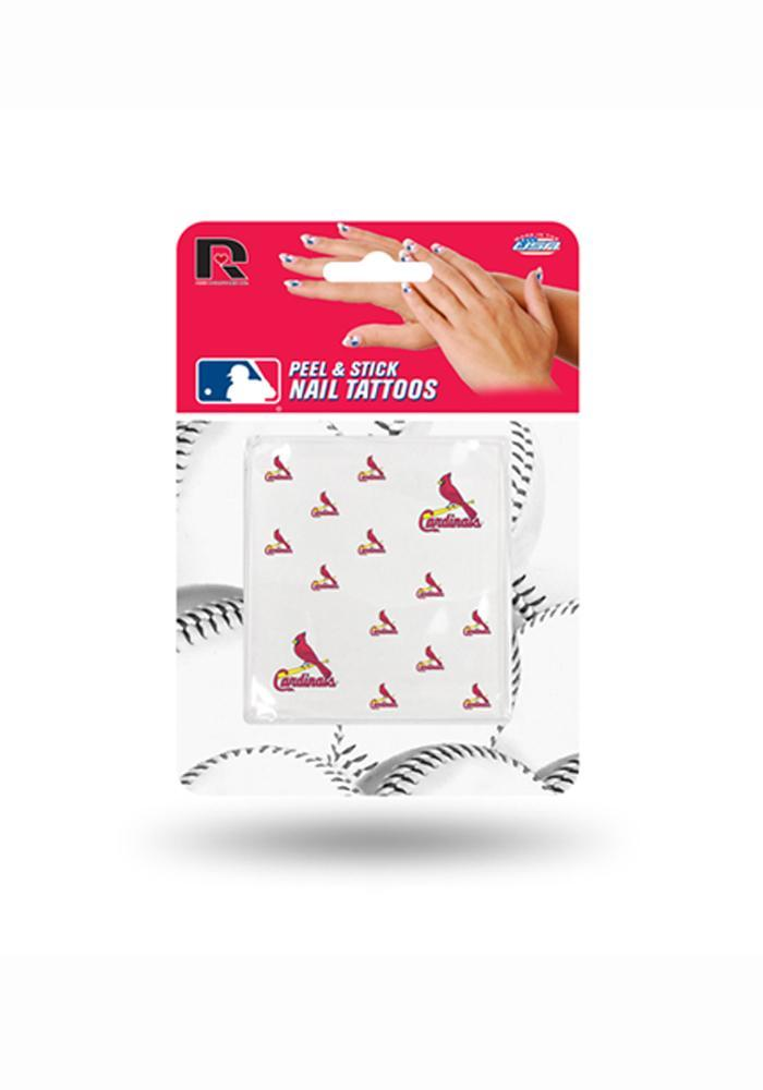 St Louis Cardinals Peel and Stick Nail Tattoo - Image 1